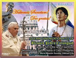 Saint Pedro Calungsod