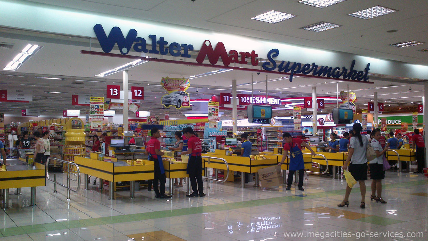 checkouts in the Philippines