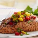 Salmon Fillet Steak Philippine Style