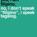 speaking Tagalog Language