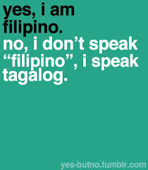 speaking Tagalog Language