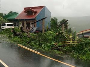 Damaging Typhoon Glenda in the Philippines