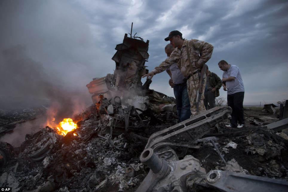Malaysia Airliner Shot Down