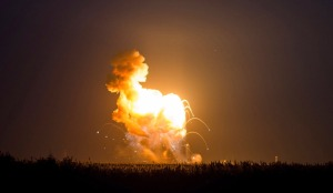 Video: NASA Antares Rocket Exploded seconds after launch