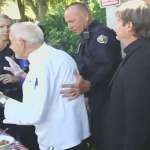 feeding homeless arrested by police