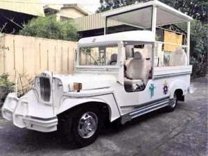 Popemobile Pinoy Style