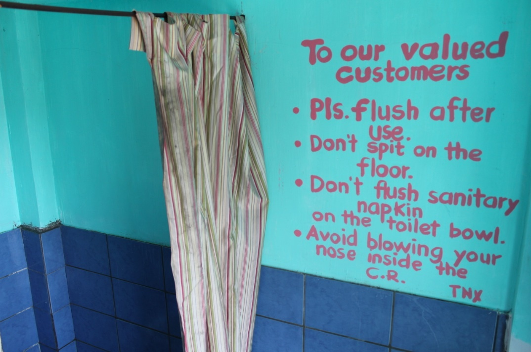 If you are Filipino and do use public toilets then you will need to take tissue paper