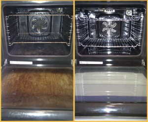 Very Easy Way to Clean Your Oven